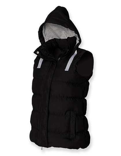 bezrękawnik Ladies Padded Gilet with Detachable