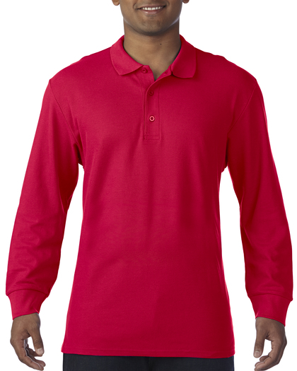 Polo długi rękaw Long Sleeve Double