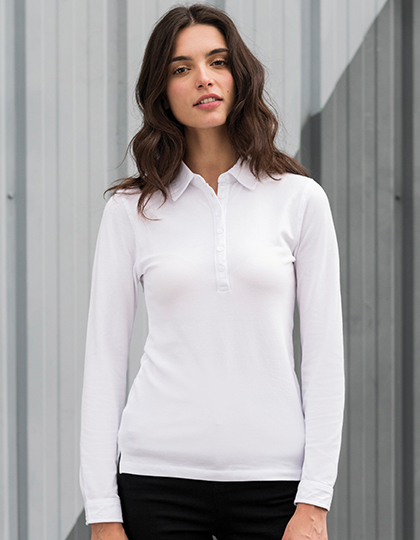 Polo długi rękaw Long Sleeved Stretch Polo