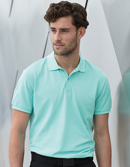 Koszulka polo Modern Fit Cotton Microfine-Piqué