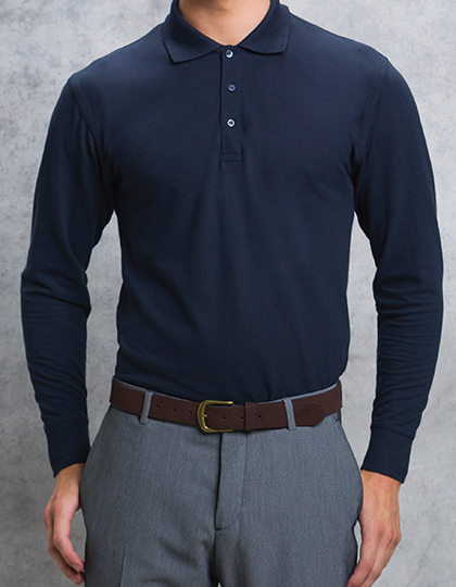 Polo długi rękaw Piqué Shirt Long Sleeve