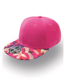 Czapka damska Snap Colour Cap Fuchsia/Flower