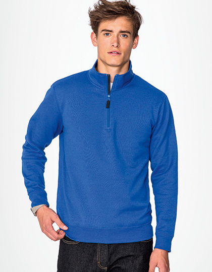 Bluza Mens Zip High Collar Sweatshirt Stan
