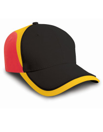 Czapka męska National Germany Black/Red/Yellow