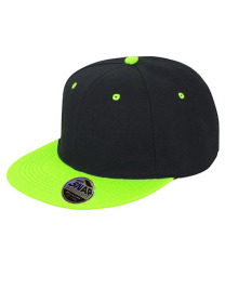 Czapka męska Bronx Dual Colour Black/Lime