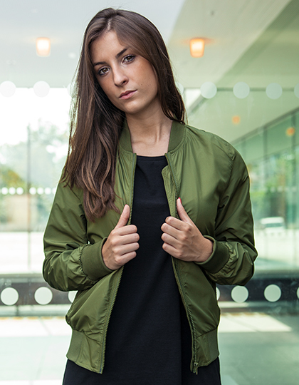 Kurtka damska Ladies` Nylon Bomber Jacket