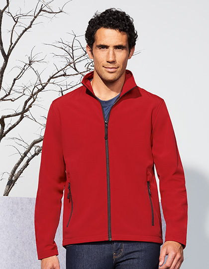 Męski Softshell Zip Jacket