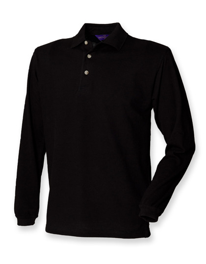 Polo długi rękaw Long Sleeved Cotton