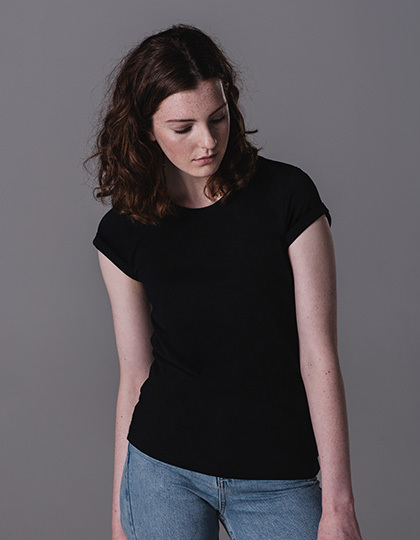 Women´s Roll Sleeve T