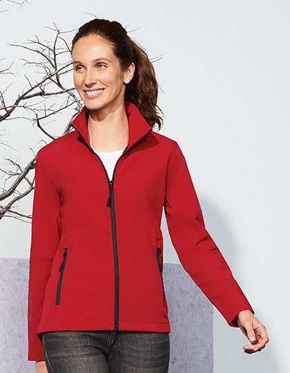 Damski Softshell Zip Jacket Race