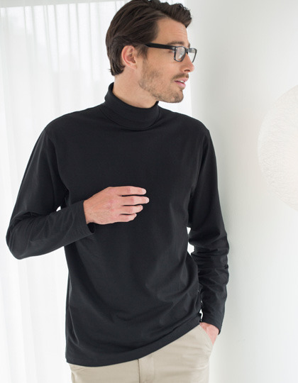 Longsleeve Henbury Roll-Neck