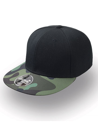 Czapka damska Snap Colour Cap Black/Camouflage