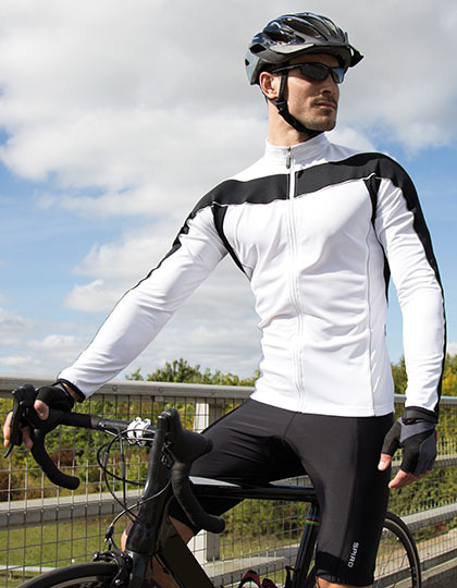Mens Bikewear Long Sleeve Performance Top
