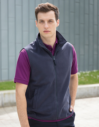 Bezrękawnik Men`s Sleeveless Microfleece Jacket