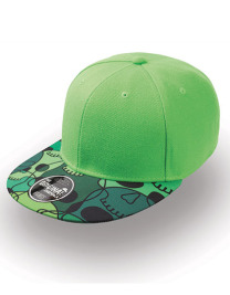 Czapka damska Snap Colour Cap Green/Skull