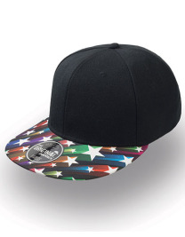 Czapka damska Snap Colour Cap Black/Star